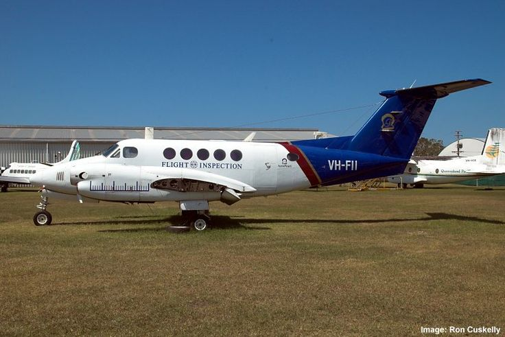 QAM AIRCRAFT COLLECTION, Beech Super King Air 200 VH-FII waiting for wing fitment 19/10/13 at Caloundra. Photograph Ron Cuskelly.