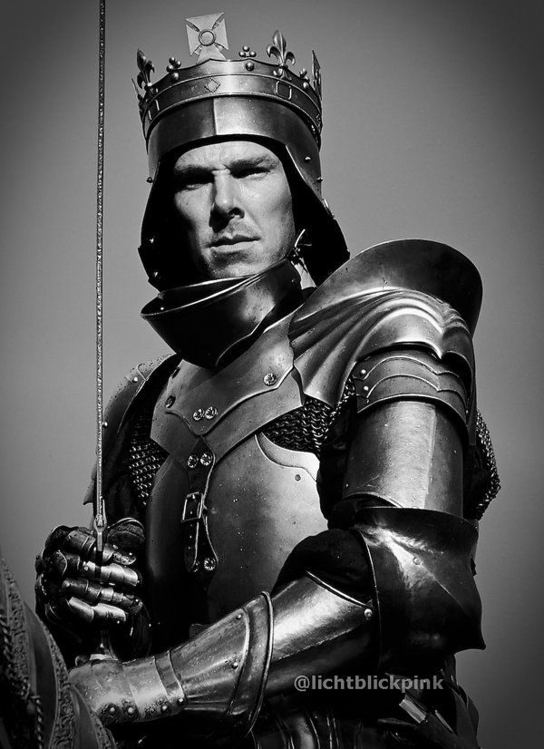 BC as Richard III in The Hollow Crown. I can't wait until this comes out.