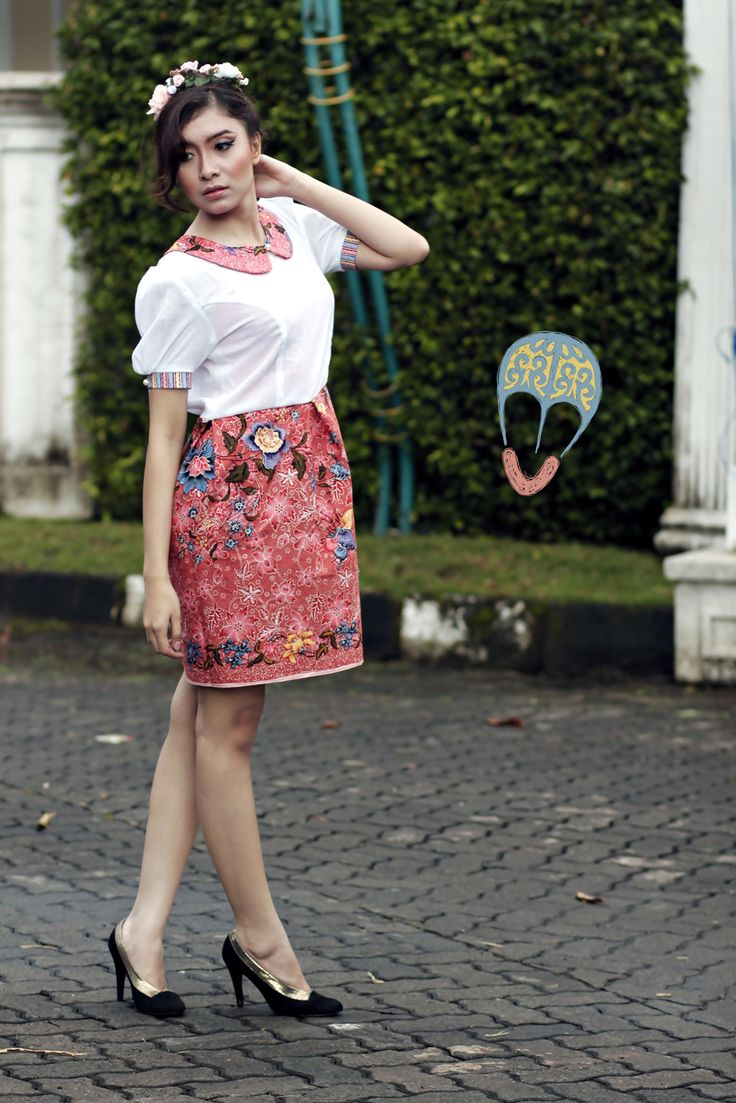 batik Dress | DhieVine | Redefine You