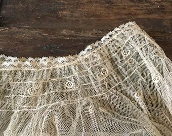1940's lace cowl..discovered with a treasure trove of vintage crochet patterns