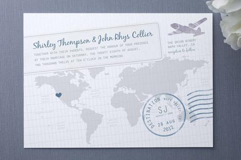 Invitation - Travel Postcard