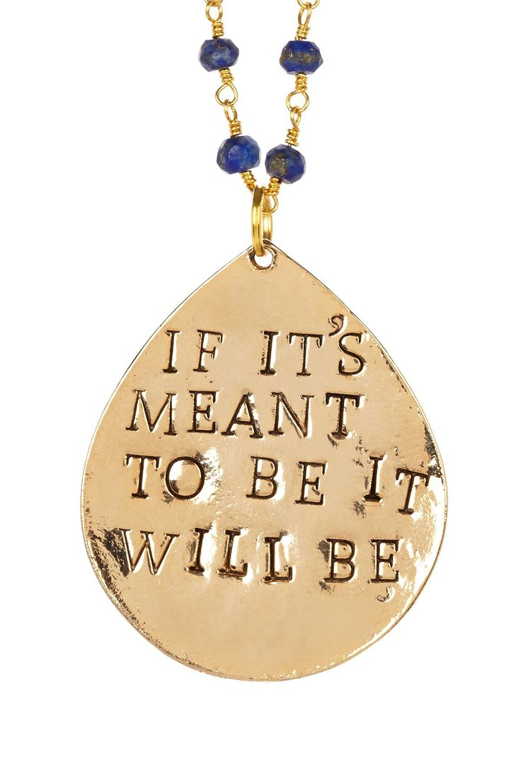 Cursive letter quot l quot cubic zirconia 14k gold finish pendant with 36 - Alisa Michelle If It S Meant To Be Sapphire Pendant Necklace