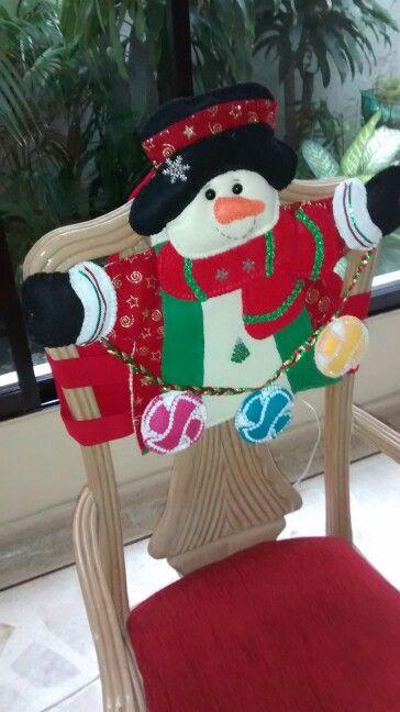 Forro de sillas en paño lence