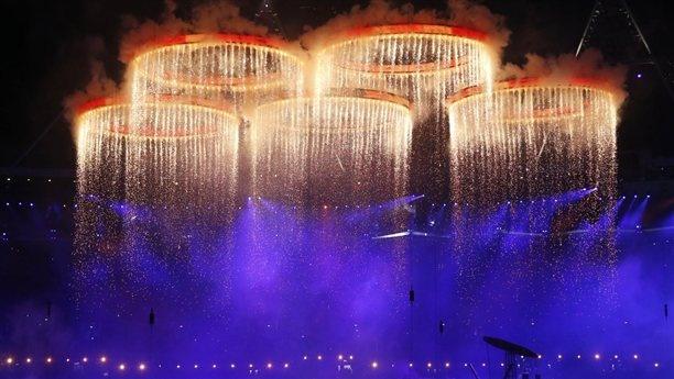 Opening Ceremony kicks off 2012 Games (Photo: Jae C. Hong / AP) #Olympics #NBCOlympics