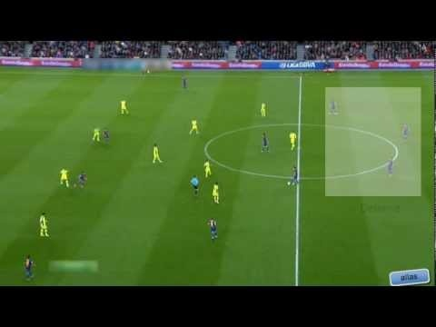 FORMATION GEEKS: This is an in interesting video on Barcelona's possession-based soccer style: one that has made them the best team in the world. The video explains how they switch from a 4-3-3 formation to a 1-2-3-4 pyramid formation. Just nuts to watch.    FC Barcelona vs Getafe - The Pyramid Formation