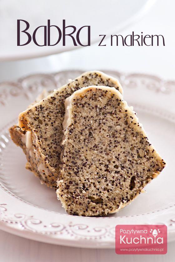 Babka z makiem - #ciasto na #Wielkanoc lub po prostu na jesień i zimę :).  http://pozytywnakuchnia.pl/babka-z-makiem/   #przepis #kuchnia