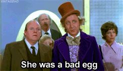 Veruca Salt falling down the egg chute: Willy Wonka and the Chocolate Factory | 23 Movie Moments That Scarred You For Life As A Child