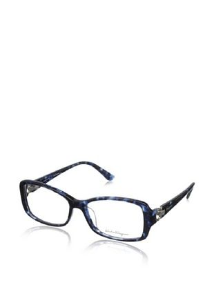 60% OFF Salvatore Ferragamo Women's FS2610R Eyeglasses, Blue Horn