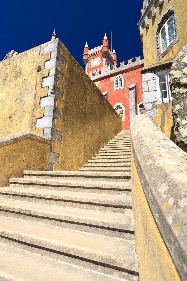 sintra,  palacio da pena, sintra, portugal
