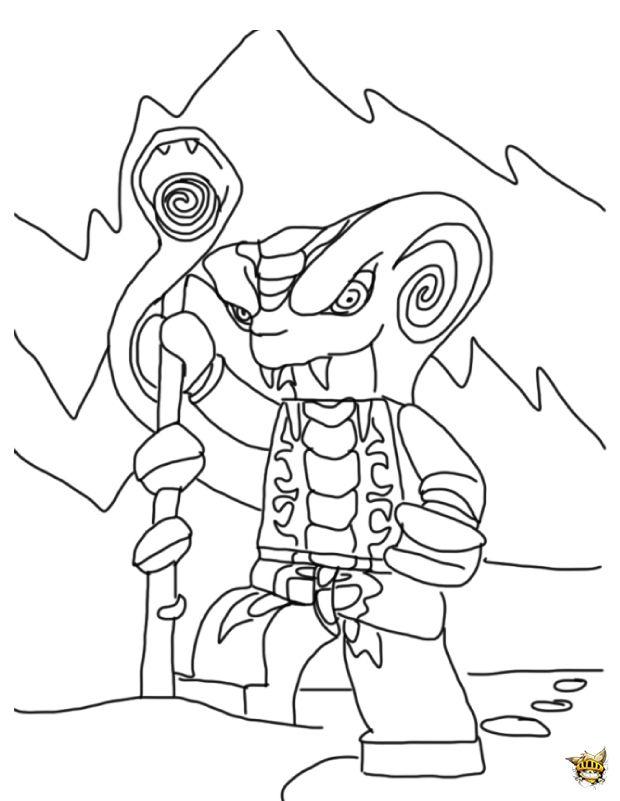 malvorlagen lego ninjago kai - cartoon ausmalbilder