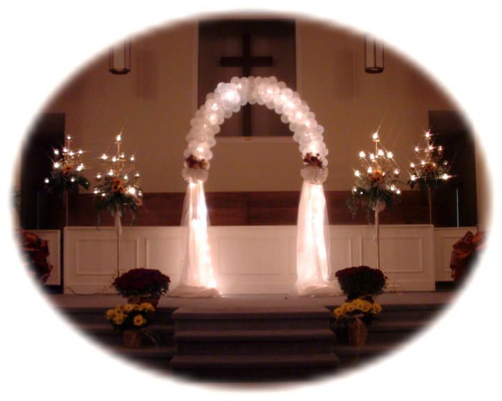 59 best wedding decorations images on pinterest flower lanterns and candles to mark pews for weddings how can i decorate a church for junglespirit Images
