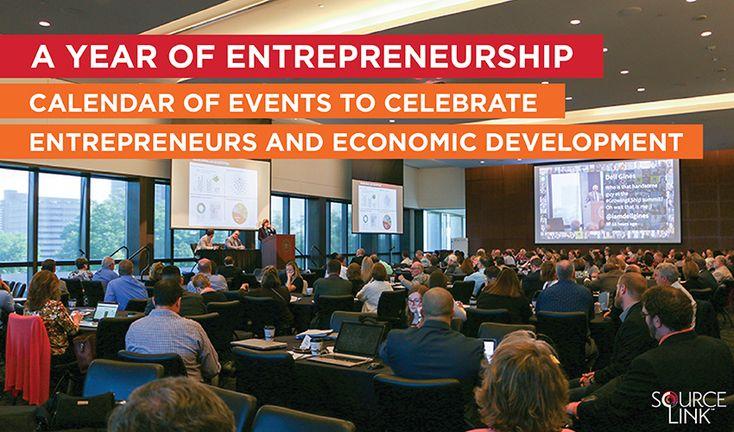 A Year of Entrepreneurship: Calendar of Events to Celebrate Entrepreneurs and Economic Development