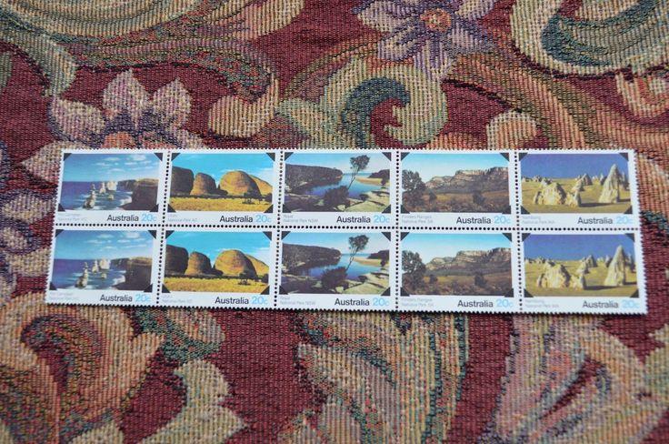 1979 Australian -National Parks Strip of 10 20c mint stamps - | eBay