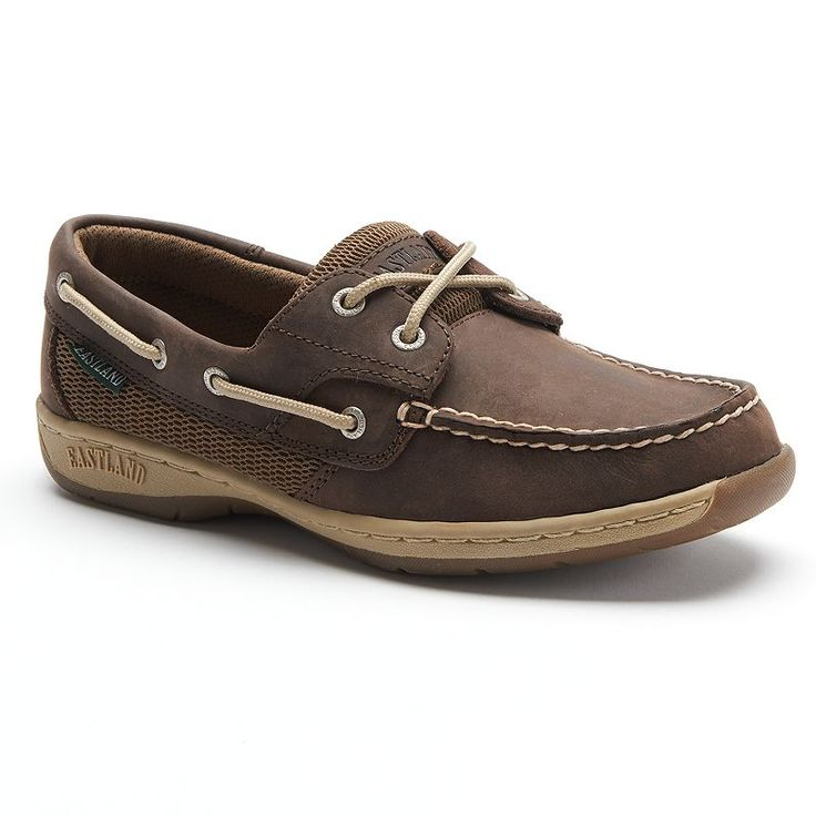 Eastland Solstice Women's Boat Shoes, Size: 8.5 Wide, Dark Brown