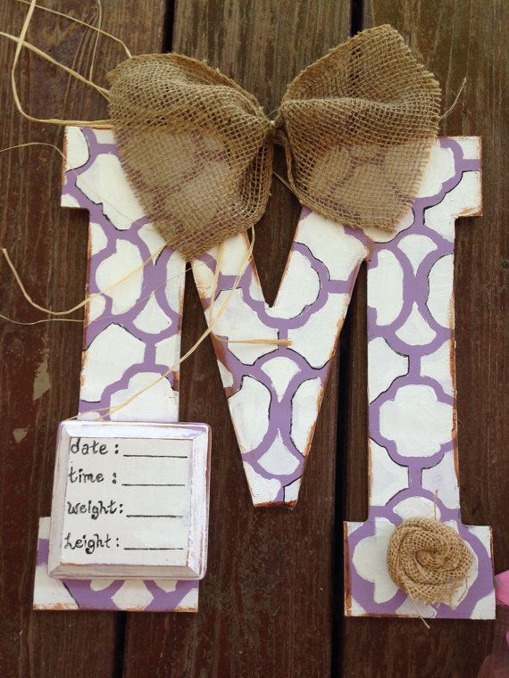 Hospital door hanger by GIFTEDdecor on Etsy
