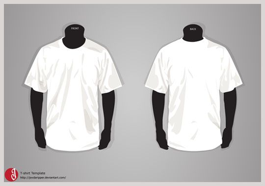 Free T-Shirt Adobe Illustrator template: Adobe Illustrator ...