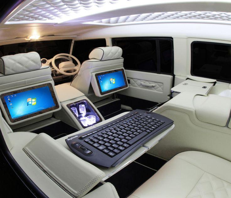 Custom Khan Interior Land Rover DEFENDER
