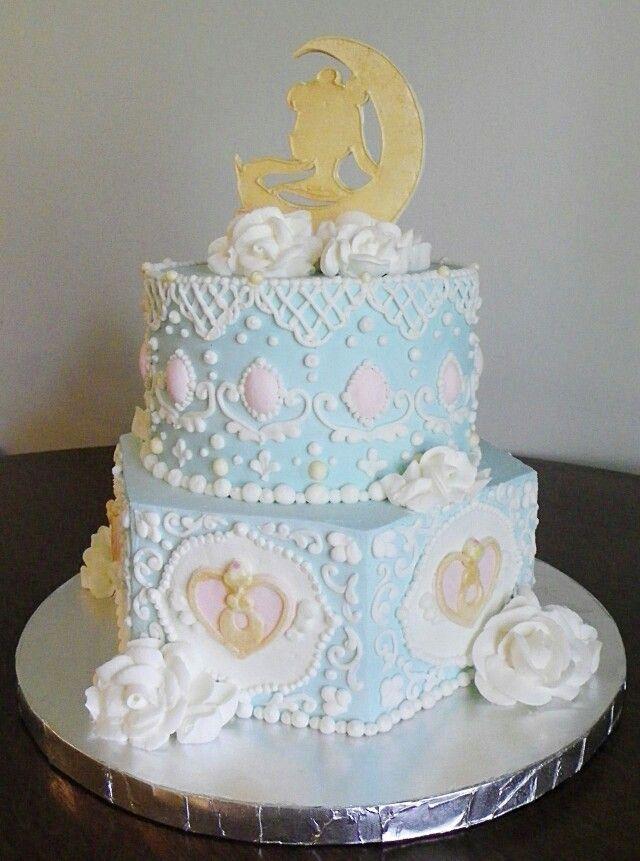 Sailor moon cake ♡