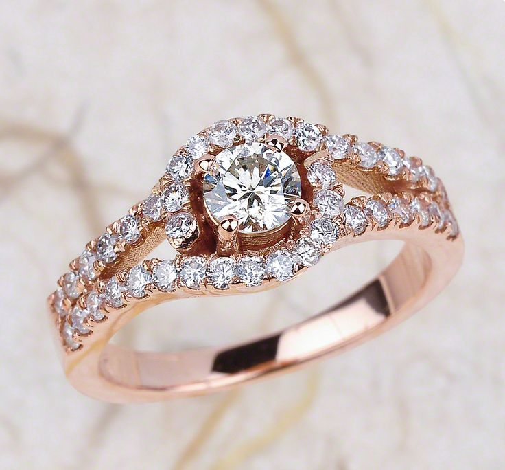 Beautiful Rose Gold Engagement Ring From Ej Collection Is Well Under 2000 And Available For Purchase
