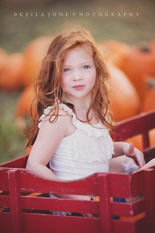 Beautiful red haired girl