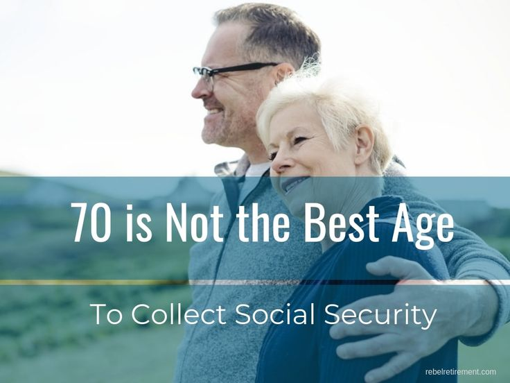 Is it better to take social security at 62 or wait do the