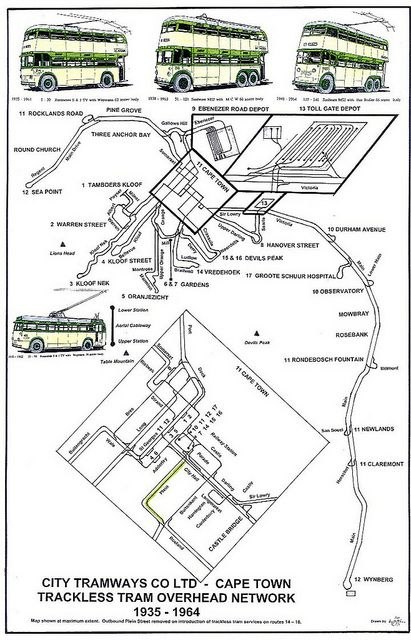 City Tramways Trackless Tram Overhead Network | Flickr - Photo Sharing!