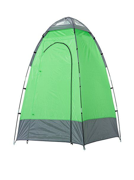 Skandika, Box doccia da campeggio 130 x 130 x 210 cm, Verde