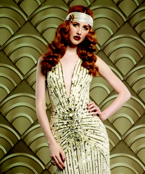 Lucie Doughty's Paul Mitchell Deco Decadence collection; American Salon November 2012
