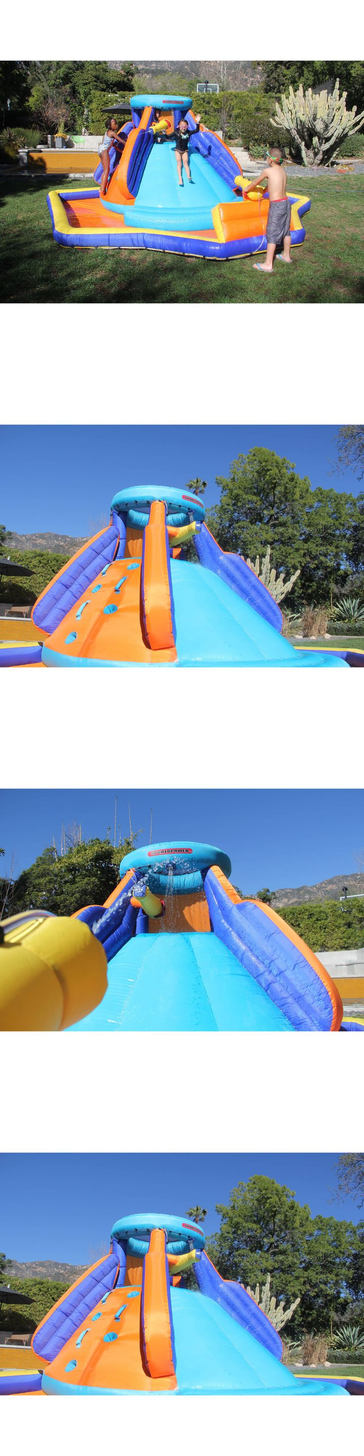 Water Slides 145992: Inflatable Water Slide Pool Swimming Bounce House Outdoor Kids Backyard Play -> BUY IT NOW ONLY: $399.33 on eBay!