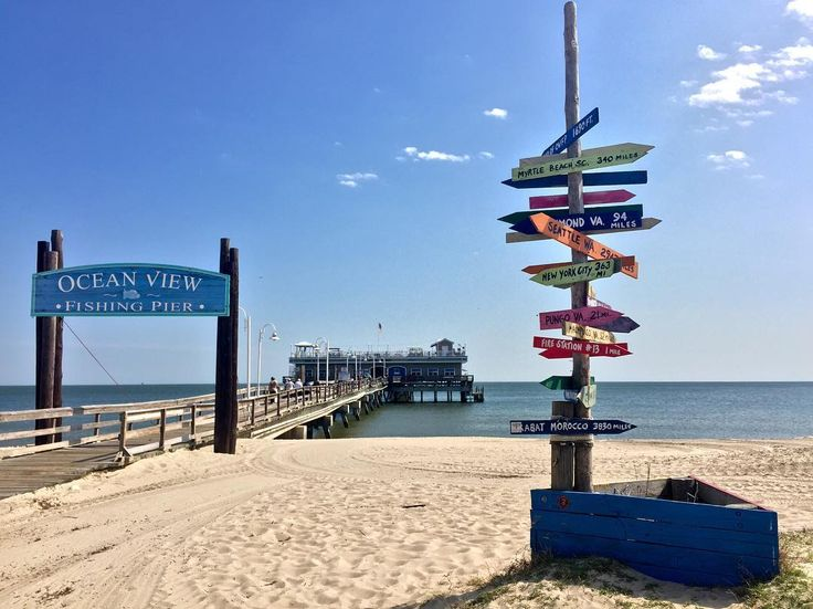 1000 images about norfolk portsmouth va on pinterest for Ocean view fishing pier
