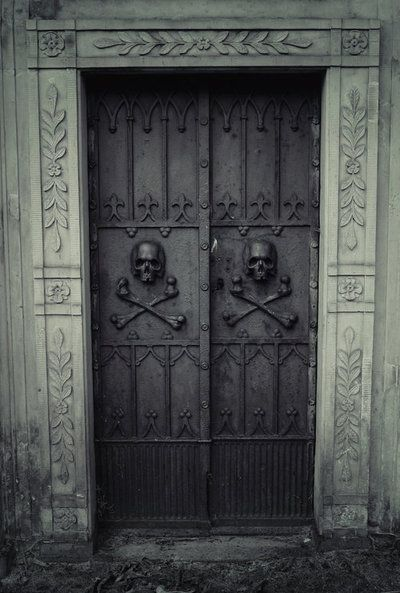 Skull doors, maybe I could get this look with a magnetic piece for the exterior door