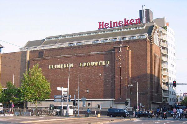 Музей пива Хайнекен в Амстердаме