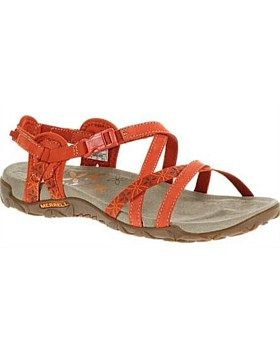 The Terran Lattice from Merrell is the perfect summer sandal. With natural flex and a grip for durable traction, this Lycra lined leather sandal feels comfortable all day. Buy Now http://www.outsidesports.co.nz/Brands/Merrell_Shoes/NVME3138/Merrell-Terran-Lattice-Sandals---Women's.html#.Vg3quvmqpBc