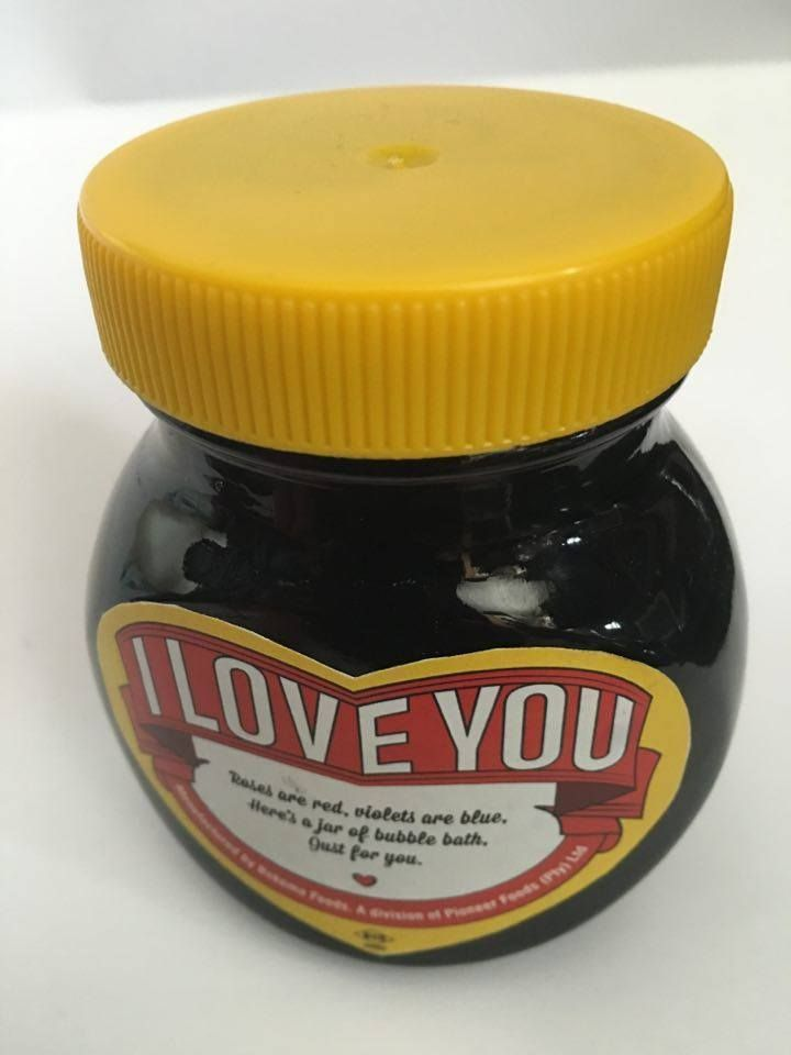 Rare Marmite South African Limited edition Valentines jar 1 of Only 10