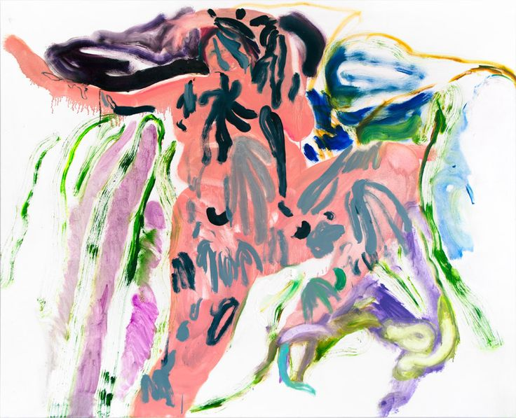 Winston Chmielinski - Matisse Bedspread 2013, Oil on canvas 130 x 160 cm. Courtesy of Egbert Baqué Contemporary Art