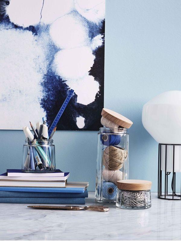 die besten 25 vorratsdosen glas ideen auf pinterest gl ser diy deko badezimmer und glasdose. Black Bedroom Furniture Sets. Home Design Ideas