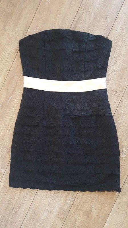 b4dc2fbbe42 Robe bustier noir - Robe bustier noir