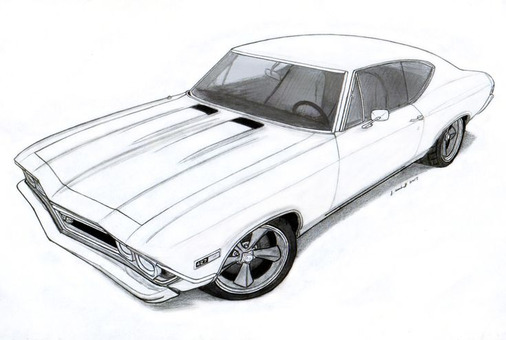 chevelle coloring pages - photo#7