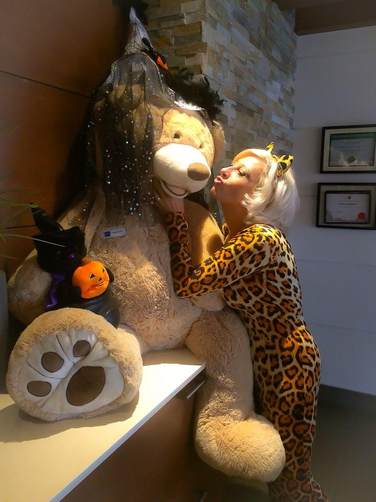 Baloo & me at Halloween