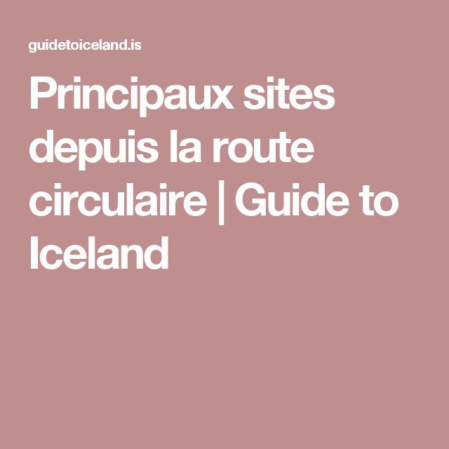 Principaux sites depuis la route circulaire | Guide to Iceland