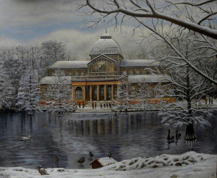 Palacio de Cristal #art #painting