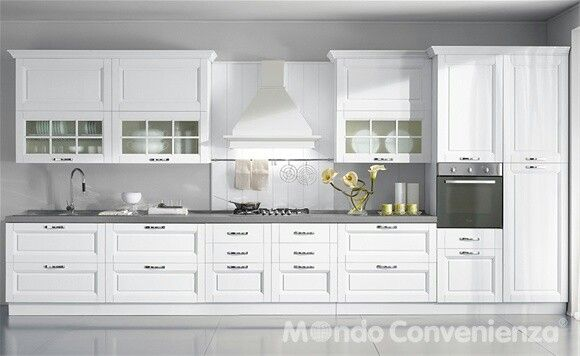 Mondo convenienza Arredo interni cucina, Stile cucina