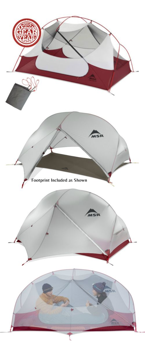 Tents 179010: Msr Hubba Hubba Nx 2 Person 3 Season Backpacking Tent W Footprint Ground Cover -> BUY IT NOW ONLY: $339.95 on eBay!