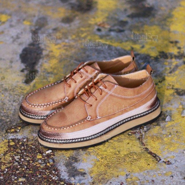 Yüksek Kaliteli Malzemelerden Üretim Moda Erkek Ayakkabı Modelleri - 571582 - 2-1
