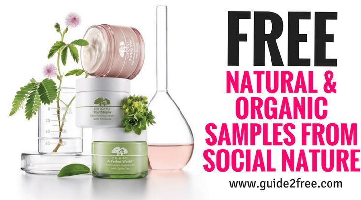 Update: Just got invited to try a natural bug killer!Get FREE Natural & Organic Samples from Social Nature!  Sign up and fill out your profile information.  When they are offering a product they think you will love they will send you an email invite for the free sample.  Samples are limited and are first-come, first-serve, so accept your invitations as soon as possible.  They offer natural, eco-friendly and healthy products.