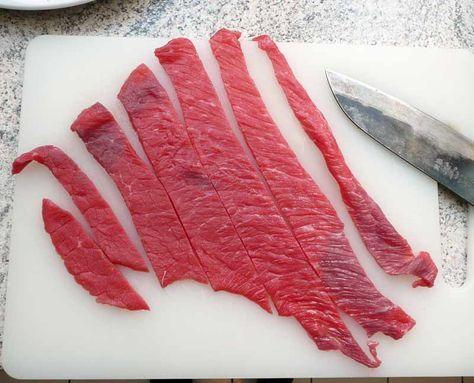 Trockenfleisch selber herstellen - Beef Jerky - Kohlenhyd-Art