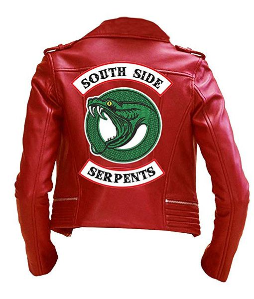 47346912f7d2 Riverdale Southside Serpents Cheryl Blossom Jacket in 2019   Cosplay ...