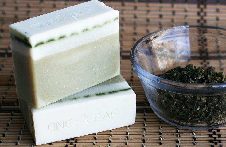 Green Tea Soap - One Leaf Soap-Natural Handmade Soaps