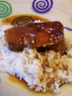 San Francisco Pork Chops - I used to make this years ago and lost the recipe. Thank goodness for the internet! This link shows a slow cooker recipe but you can fix it on the stovetop, just google it. It's sooo good.