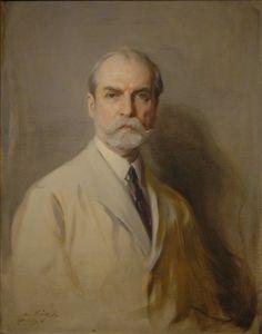 Charles Evans Hughes - Philip Alexius de László - The Athenaeum